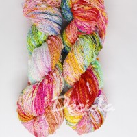"""Crazy colours"" - efektní merino SLUB"