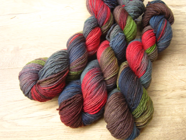 """Deep forest""  MERINO se sw (4mm)"