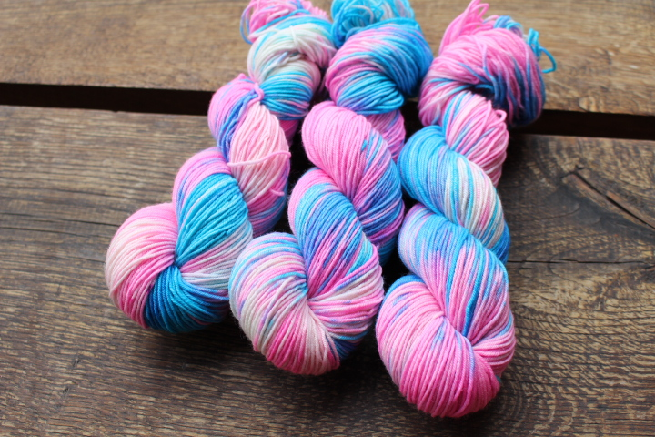 """Něžná bubble""  extra MERINO se sw 3,5mm"