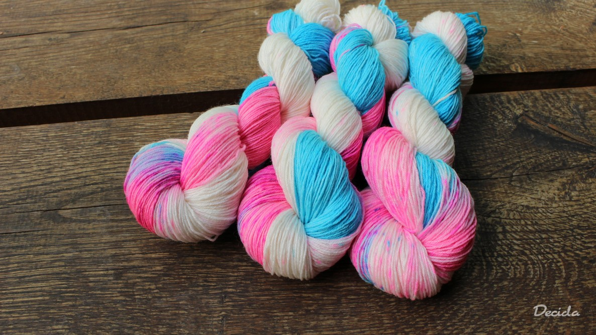 """Sweet girl"" Merino/bambus sw 3mm"
