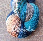 """Perry blue""  extra MERINO se sw 2mm (680m)"