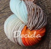 """Sólistka do modra :-)"" - extra MERINO se sw 4mm"