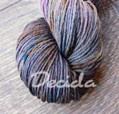 """Dark side"" Merino/hedvábí 4mm"