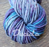 """Berry blue""  extra MERINO se sw 5,5mm"