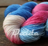 """Greek paradise"" merino/hedvábí 2mm"