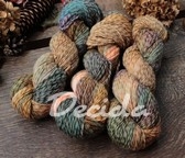 """Fallen leaves"" - Tweed merino 225m/100g"