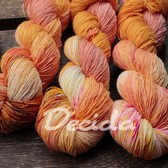 """Crazy orange"" extra MERINO se sw 3mm"