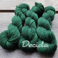 """Green emerald"" -  extra MERINO se sw 3mm"