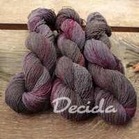 """Dark burgundy""- BURET 2mm 500m/100g"