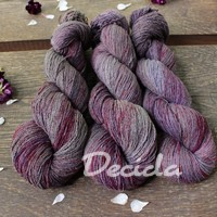 """Dark berry""- BURET 2mm 500m/100g"