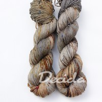 """Coffee with cinnamon"" Merino/hedvábí 4mm"