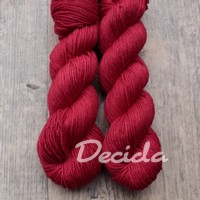 """Red"" Merino/hedvábí 4mm"