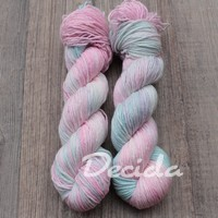 """Bubble"" Merino/hedvábí 4mm"