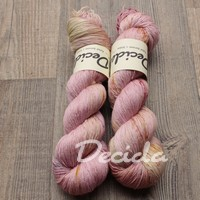 """Smooth moments - Pink"" merino/hedvábí 2mm"