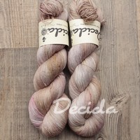 """Smooth moments - Mauve Taupe"" merino/hedvábí 2mm"