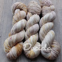 """Golden church 2"" Merino/hedvábí 4mm"