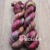 """Wine grape"" merino/hedvábí 50/50 212m"